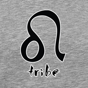 Tribe (Leo with White Outline) - Men's Premium T-Shirt