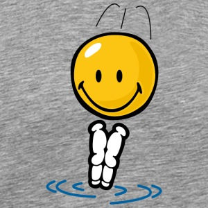 SmileyWorld Diving Smiley - Men's Premium T-Shirt