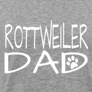 Rottweiler Dog Dad - Men's Premium T-Shirt