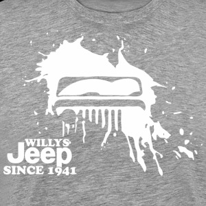 Willys Jeep for Black T shirt