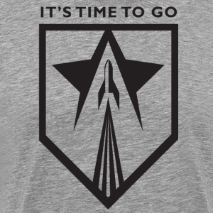 It's time to go to space logo
