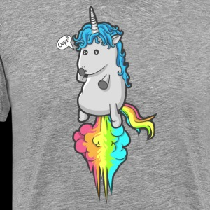 Cute Unicorn Rainbow Fart