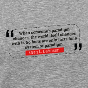 "Greg Bahnsen ""The World Changes with Paradigm"""