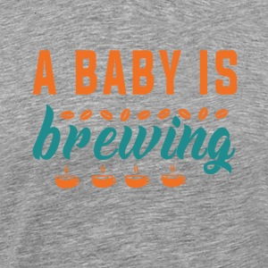 Funny Pregnancy Announcement A baby is Brewing