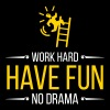 Work Hard. Have Fun. No Drama. - Men's Premium T-Shirt