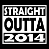 3rd Birthday T Shirt Straight Outta 2014 - Men's Premium T-Shirt