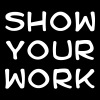 Show your work - Men's Premium T-Shirt