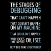 Stages of Debugging - Men's Premium T-Shirt