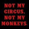 Not my circus, not my monkeys - Men's Premium T-Shirt