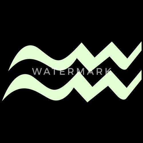 Aquarius Symbol Vector Graphic By Nerdyrockchick Spreadshirt