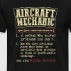 Aircraft Mechanic Badass Dictionary Term Funny T-S - Men's Premium T-Shirt