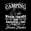 Camping-toasted-together - Men's Premium T-Shirt