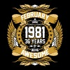 February 1981 36 Years Of Being Awesome - Men's Premium T-Shirt