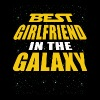 Best Girlfriend In The Galaxy - Men's Premium T-Shirt