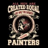 The Luckiest Men Become Painters - Men's Premium T-Shirt