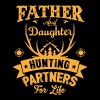 Father And Daughter Hunting Partners For Life T Sh - Men's Premium T-Shirt