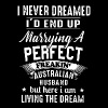 I never dreamer i'd end up marrying a perfect frea - Men's Premium T-Shirt