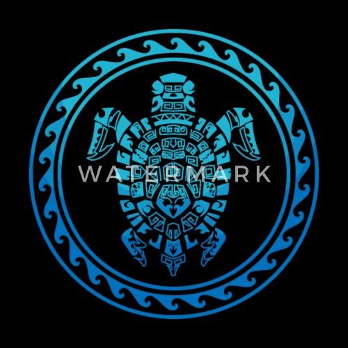 Hawaiian Tribal Sea Turtle Polynesian Symbol Tee By Spreadshirt