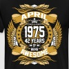April 1975 42 Years Of Being Awesome - Men's Premium T-Shirt