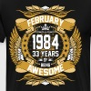 February 1984 33 Years Of Being Awesome - Men's Premium T-Shirt