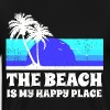 The Beach Happy Place - Men's Premium T-Shirt