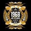 July 1968 49 Years Of Being Awesome - Men's Premium T-Shirt