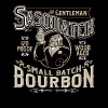 Gentleman Sasquatch Small Batch Bourbon - Men's Premium T-Shirt