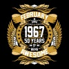 February 1967 50 Years Of Being Awesome - Men's Premium T-Shirt