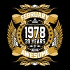 February 1978 39 Years Of Being Awesome - Men's Premium T-Shirt
