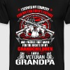 Veteran grandpa - I served my country for future - Men's Premium T-Shirt