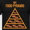 Bacon Food Pyramid - Men's Premium T-Shirt