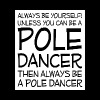 Be Yourself Unless You Can Be Pole Dancer T-Shirt - Men's Premium T-Shirt