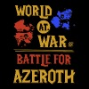 WORLD AT WAR BATTLE FOR AZEROTH - Men's Premium T-Shirt
