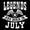 Legend Are Born in July - Men's Premium T-Shirt