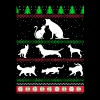 Pet love- Awesome christmas sweater for pet lovers - Men's Premium T-Shirt