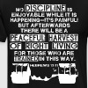 Hebrews 12:11 - Discipline Quote for Lifters - Men's Premium T-Shirt