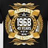 August 1968 49 Years Of Being Awesome - Men's Premium T-Shirt