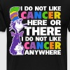 I Hate Cancer Everywhere Cancer Awareness T-Shirts - Men's Premium T-Shirt