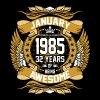 January 1985 32 Years Of Being Awesome - Men's Premium T-Shirt