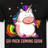 Unicorn six-pack coming soom shirt - Men's Premium T-Shirt
