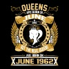 The Real Queens Are Born On June 1962 - Men's Premium T-Shirt