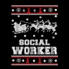 Social worker - Awesome christmas worker sweater - Men's Premium T-Shirt
