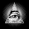 illuminati eye of providence - Men's Premium T-Shirt