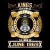 The Real Kings Are Born On June 1969 - Men's Premium T-Shirt