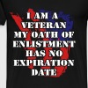 Veterans T-shirt - My oath has no expiration date - Men's Premium T-Shirt