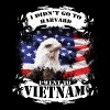 Vietnam Veteran T-shirt - I didn't go to Harvard - Men's Premium T-Shirt