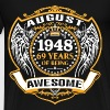 1948 69 Years Of Being Awesome August - Men's Premium T-Shirt