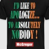 apologize to absolutely n - Men's Premium T-Shirt