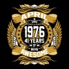 April 1976 41 Years Of Being Awesome - Men's Premium T-Shirt