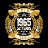 July 1965 52 Years Of Being Awesome - Men's Premium T-Shirt